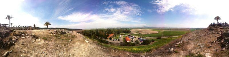 Megiddo panorama