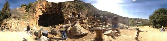 The Ruins at Caesarea Philippi