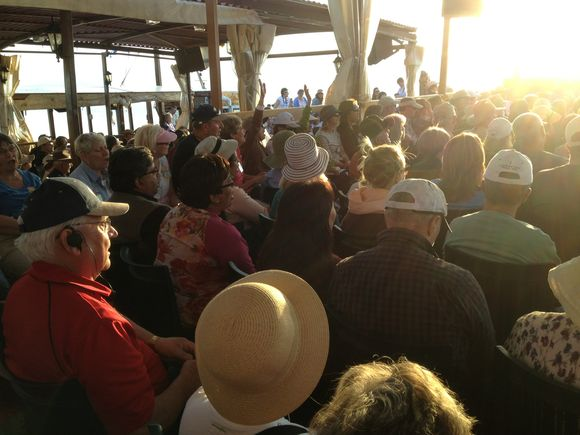 Worship on the Sea of Galilee