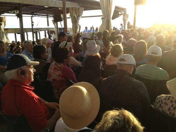 Worship on the Sea of Galilee