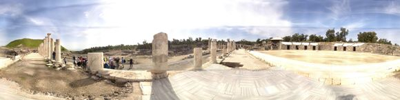 Walking on a Roman Plaza
