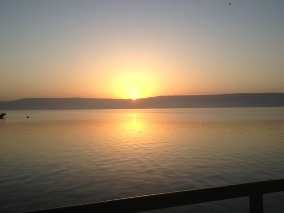 Sunrise on Galilee